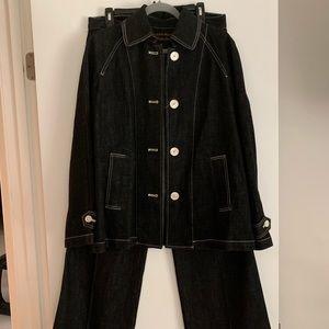 Ralph Lauren Jean Co Suit
